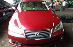 Foreign Used LEXUS ES 350 2010 Model Red for Sale