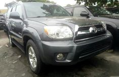 Foreign Used Toyota  4 Runner 2008 Model Gray for Sale