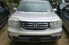 Foreign Used Honda Pilot  2010 Model Silver for Sale