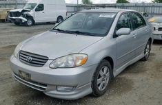 Clean Tokunbo Used Toyota Corolla 2004 Model