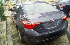 Clean Tokunbo Used Toyota Corolla 2014 Model