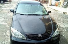 Clean Nigerian Used Toyota Camry 2002 Black