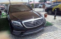 Clean Tokunbo Used Mercedes-Benz S-Class 2015 Black