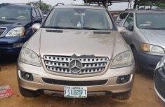 Clean Nigerian Used 2007 Mercedes-Benz ML350 Petrol Automatic