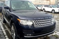 Used blue 2014 Land Rover Range Rover Vogue suv / crossover at mileage 0 for sale