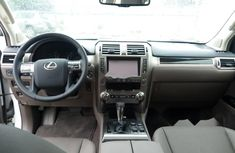 Clean Tokunbo Used Lexus GX 2018 White