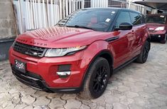 Tokunbo Used Land Rover Range Rover Evoque 2015