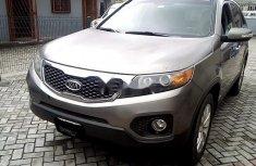 Neat Nigerian Used  Kia Sorento 2011 Grey/Silver