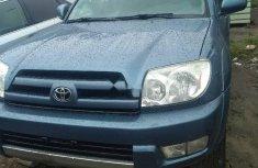 Clean Tokunbo Used Toyota 4-Runner 2005 Blue