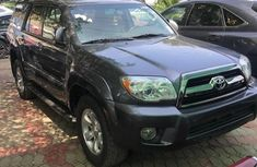 Clean Tokunbo Used  Toyota 4-Runner 2009 Grey/Silver