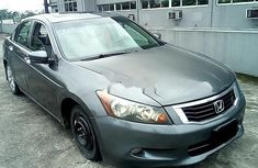Clean Nigerian Used Honda Accord 2009 Grey/Silver