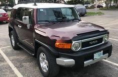 Clean Nigerian Used Toyota FJ CRUISER 2007 Brown