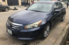 Clean Nigerian Used Honda Accord 2011 Blue