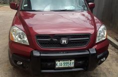 Neat Nigerian Used 2003 Model  Honda Pilot Petrol Automatic