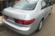Clean Foreign Used Honda Accord 2005 Grey/Silver