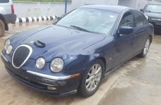Neat Nigerian Used  Jaguar S-Type 2000 Blue