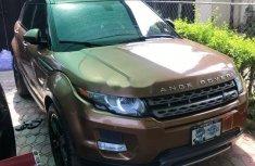 Clean Tokunbo  Land Rover Range Rover Evoque 2016 Brown