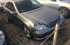 Clean Tokunbo Used Mercedes-Benz C230 2004 Grey/Silver