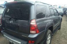 Clean Tokunbo Used Toyota 4-Runner 2005  Grey/Silver