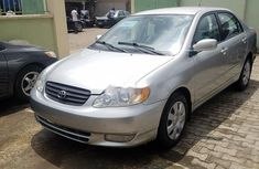 Clean Foreign Used Toyota Corolla 2006 Model Grey/Silver