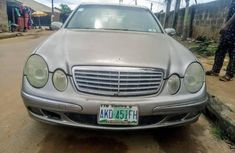Neat Nigerian Used  Mercedes-Benz E320 2004