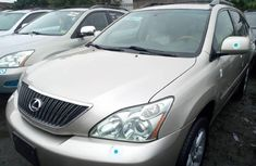 Sell used gold 2004 Lexus RX suv / crossover at price ₦3,500,000