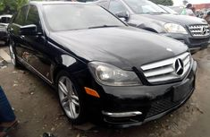 Used grey/silver 2013 Mercedes-Benz C300 automatic for sale in Lagos