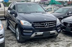 Best priced used 2014 Mercedes-Benz ML350 suv / crossover automatic in Lagos