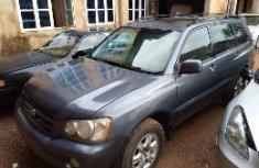 Neat Nigerian Used 2003 Toyota Highlander