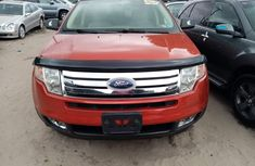 Foreign Used Ford Edge 2008 Model Red for Sale