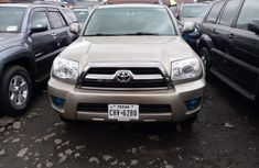 Foreign Used Toyota 4Runner 2008 Model Gold for Sale
