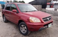 Sell used red 2004 Honda Pilot suv / crossover at price ₦900,000