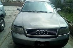 Grey/silver 2001 Audi A6 automatic for sale in Lagos