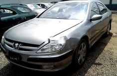 Sell well kept grey/silver 2009 Peugeot 607 sedan in Lagos