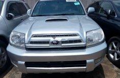 Clean Nigerian Used  Toyota 4-Runner 2007 Model Grey/Silver