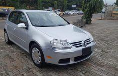Best priced grey/silver 2007 Volkswagen Golf hatchback automatic in Lagos