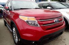 Sell well kept red 2012 Ford Explorer automatic