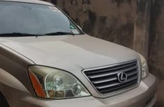 Used gold 2005 Lexus GX suv / crossover for sale at price ₦5,000,000