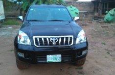 Clean Nigerian Used Toyota Land Cruiser Prado 2009