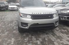 Best priced used grey/silver 2016 Land Rover Range Rover Sport automatic in Lagos
