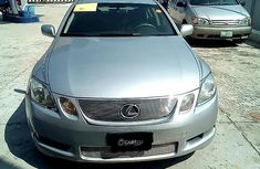 Used grey/silver 2006 Lexus GS car automatic at attractive price