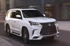 2020 Lexus LX 570 brings exceptional style with its new sport package