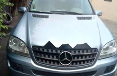 Sell blue 2007 Mercedes-Benz ML350 automatic at price ₦3,000,000