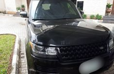 Best priced used black 2014 Land Rover Range Rover Vogue suv / crossover automatic