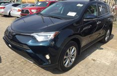Used blue 2018 Toyota RAV4 automatic for sale