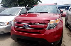 Sell cheap red 2012 Ford Explorer suv / crossover automatic