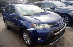 Blue 2015 Toyota RAV4 suv / crossover automatic for sale at price ₦10,000,000