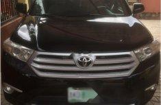 Nigerian Used Toyota Highlander 2013