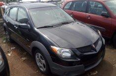 Foreign Used Pontiac Vibe 2004 Tokunbo Black