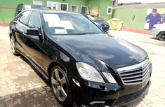 Well Maintained Nigerian used Mercedes-Benz E350 2010